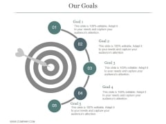 Our Goals Ppt PowerPoint Presentation Ideas