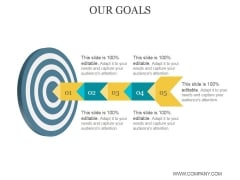 Our Goals Ppt PowerPoint Presentation Infographic Template