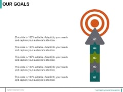 Our Goals Ppt PowerPoint Presentation Inspiration Pictures