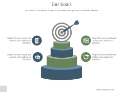 Our Goals Ppt PowerPoint Presentation Layout
