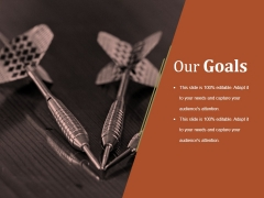 Our Goals Ppt PowerPoint Presentation Picture