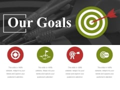 Our Goals Ppt PowerPoint Presentation Pictures Outfit