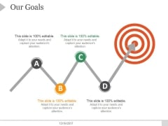 Our Goals Ppt PowerPoint Presentation Slides