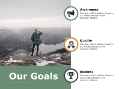 Our Goals Quality Ppt PowerPoint Presentation File Graphics Download