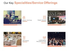 Our Key Specialties Service Offerings Ppt PowerPoint Presentation Layouts Vector