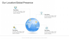 Our Location Global Presence Company Profile Ppt Styles Portrait PDF