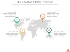Our Location Global Presence Ppt PowerPoint Presentation Graphics
