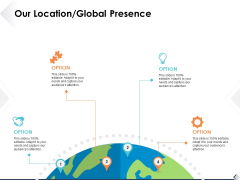Our Location Global Presence Ppt PowerPoint Presentation Infographics Images