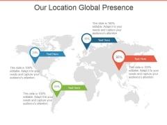 Our Location Global Presence Ppt PowerPoint Presentation Layouts Graphics Template