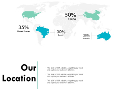 Our Location Information Geography Ppt PowerPoint Presentation Infographic Template Demonstration