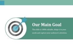 Our Main Goal Ppt PowerPoint Presentation Model Outline