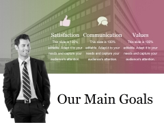 Our Main Goals Ppt PowerPoint Presentation Gallery