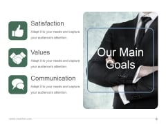Our Main Goals Ppt PowerPoint Presentation Guide