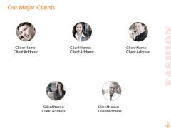 Our Major Clients Communication Ppt PowerPoint Presentation Portfolio Background Designs
