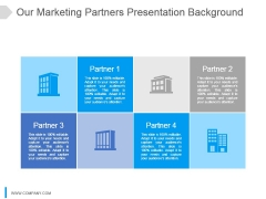 Our Marketing Partners Ppt Presentation