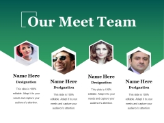 Our Meet Team Ppt PowerPoint Presentation Gallery Example Introduction
