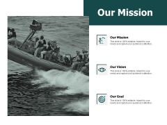 Our Mission And Goal Vision Ppt PowerPoint Presentation Gallery Slide Portrait