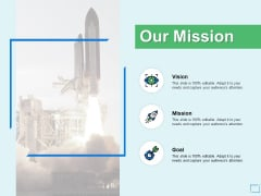 Our Mission And Goal Vision Ppt PowerPoint Presentation Styles Example