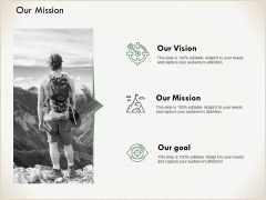Our Mission And Goal Vision Ppt PowerPoint Presentation Visual Aids Example File