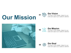 Our Mission And Our Vision Ppt PowerPoint Presentation Show Icons