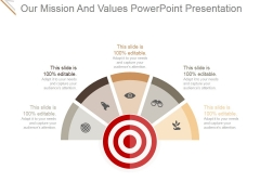 Our Mission And Values Ppt PowerPoint Presentation Inspiration