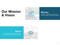Our Mission And Vision Goal Ppt Powerpoint Presentation Icon Graphic Images