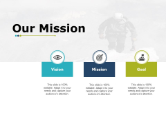 Our Mission And Vision Ppt PowerPoint Presentation File Icons