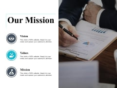 Our Mission And Vision Ppt PowerPoint Presentation Infographic Template Slides