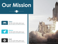 Our Mission And Vision Ppt PowerPoint Presentation Inspiration Icons