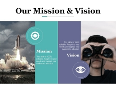 Our Mission And Vision Ppt PowerPoint Presentation Portfolio Diagrams