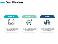 Our Mission And Vision Ppt PowerPoint Presentation Summary Diagrams