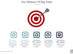 Our Mission Of Big Data Ppt PowerPoint Presentation Visuals