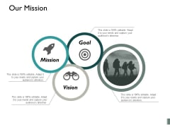 Our Mission Planning Goal Ppt PowerPoint Presentation Visual Aids Inspiration