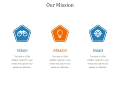 Our Mission Ppt PowerPoint Presentation Background Image
