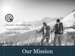 Our Mission Ppt PowerPoint Presentation Background Images
