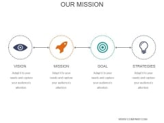 Our Mission Ppt PowerPoint Presentation Deck