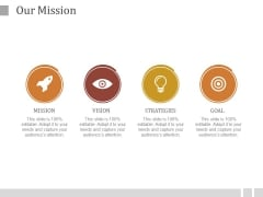 Our Mission Ppt PowerPoint Presentation Design Templates