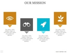 Our Mission Ppt PowerPoint Presentation Diagrams