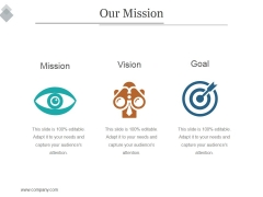 Our Mission Ppt PowerPoint Presentation Example File