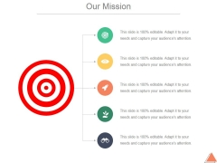 Our Mission Ppt PowerPoint Presentation Examples