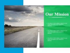 Our Mission Ppt PowerPoint Presentation File Portfolio