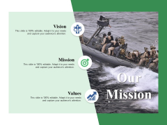 Our Mission Ppt PowerPoint Presentation File Structure