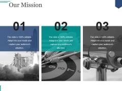 Our Mission Ppt PowerPoint Presentation Gallery Elements