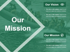 Our Mission Ppt PowerPoint Presentation Gallery Shapes