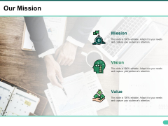 Our Mission Ppt PowerPoint Presentation Gallery Topics