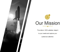 Our Mission Ppt PowerPoint Presentation Guide