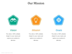 Our Mission Ppt PowerPoint Presentation Icon Backgrounds