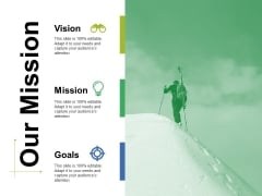 Our Mission Ppt PowerPoint Presentation Icon Brochure