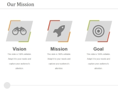 Our Mission Ppt PowerPoint Presentation Icon Introduction