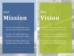Our Mission Ppt PowerPoint Presentation Icon Portfolio